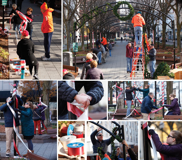Piatt Park Holiday Decorating